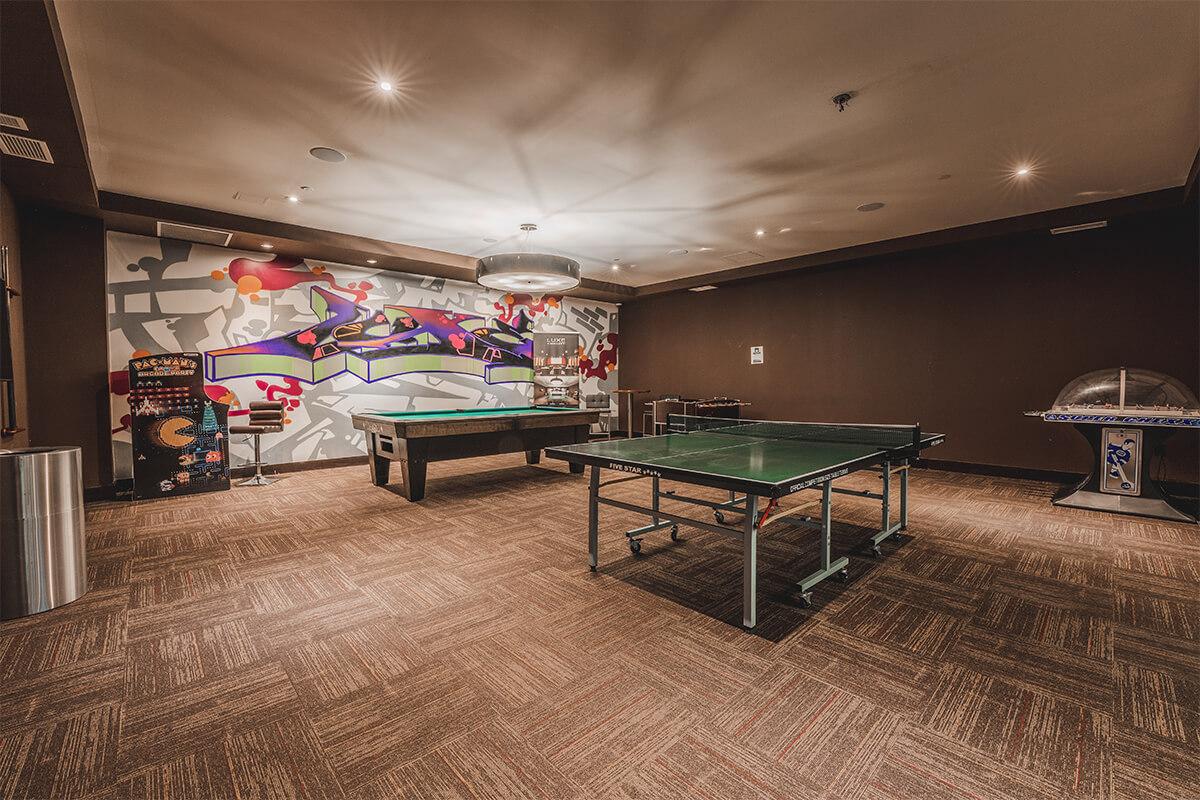 Luxe Games Room