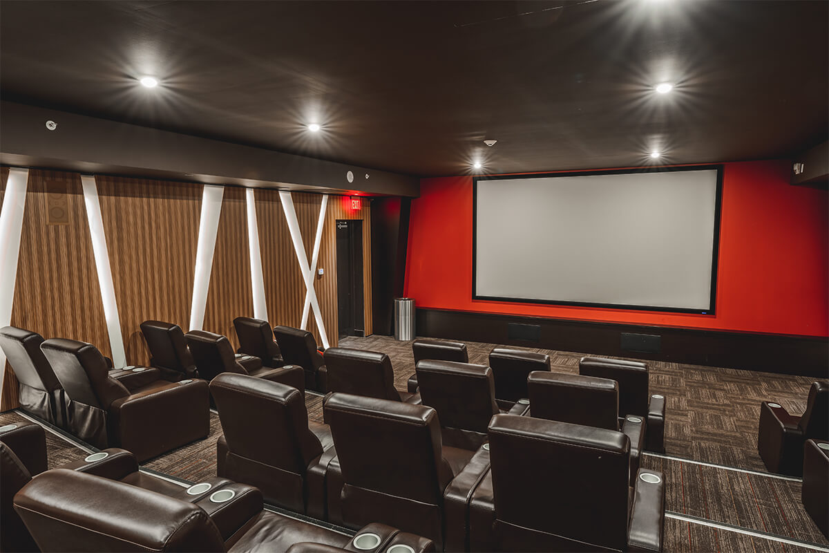 Luxe Projection Movie Theatre