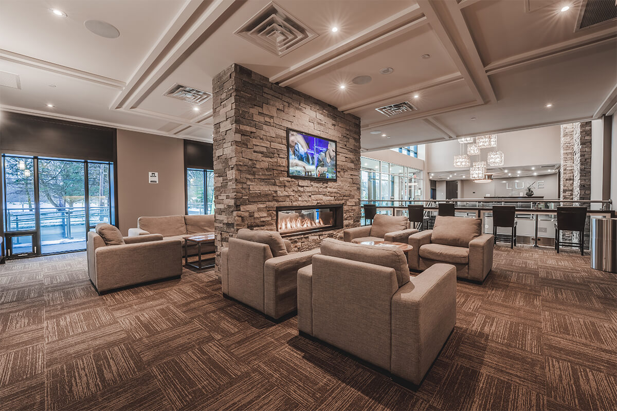 Luxe Study Lounge